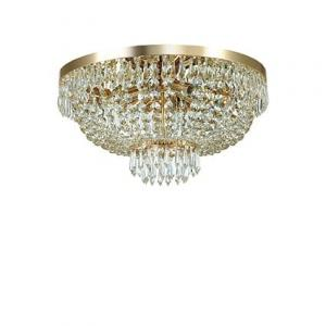 Krištáľové svietidlo IDEAL LUX Caesar PL6 Oro 114682