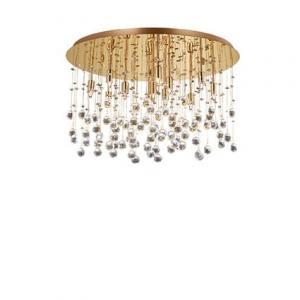 Krištáľové svietidlo IDEAL LUX Moonlight PL12 Oro 082783