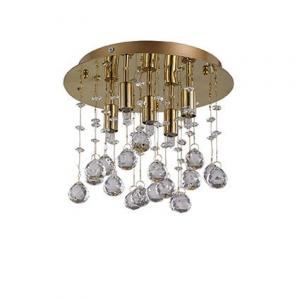 Krištáľové svietidlo IDEAL LUX Moonlight PL5 Oro 094663