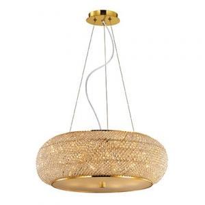Krištáľové svietidlo IDEAL LUX Pasha SP10 Oro 082257