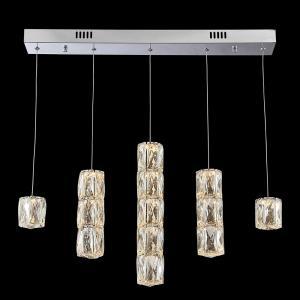 Krištáľové svietidlo LUXERA POLAR chróm LED  62403
