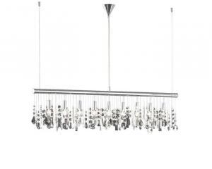 Krištáľové svietidlo WOFI A CRYSTAL chrom 725809010000