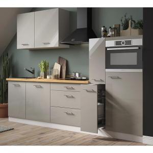 Kuchyňa  Essen Trend 280 Telo: biela perla/Predné strany: capuccino