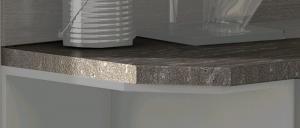 Kuchynská pracovná doska pre regál APL 30 cm,ľavá