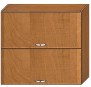 Kuchynská skrinka 60cm 2 klapy drevo