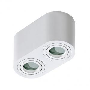 Vonkajšie stropné svietidlo AZZARDO Brant 2 IP44 white AZ2816