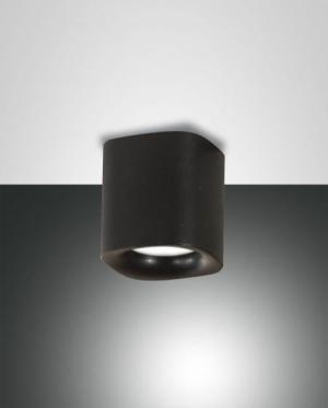 Kúpeľňové svietidlo FABAS SMOOTH Nero, Black 3555-81-101