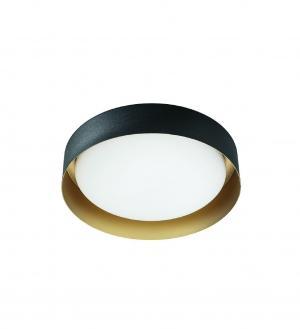 Kúpeľňové svietidlo LINEA Crew 2 black gold  8302