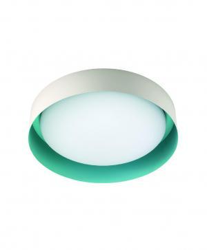 Kúpeľňové svietidlo LINEA Crew 2 biela zelená 8296