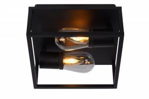 Kúpeľňové svietidlo LUCIDE CARLYN Čierna 27100/02/30