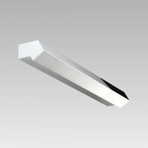 Kúpeľňové svietidlo PREZENT ERRAY  CHROME/OPAL 41103