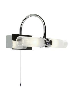 Kúpeľňové svietidlo REDO POLO CHROME G9 IP44 01-097