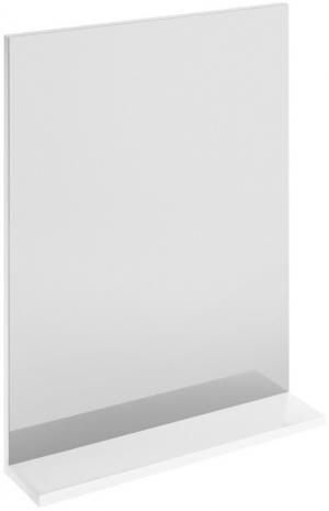 Kúpeľňové zrkadlo s policou CERSANIT MELA biela