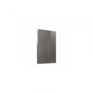 Kúpeľňové zrkadlo TWINS 50 cm sivé