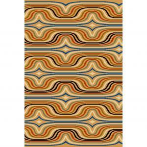 Kusový koberec Agnella Book of Design Special SEWILLAS zlatá vlna, od 80x150cm