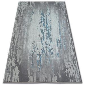 Kusový koberec AKRYLOVÝ PATARA 0116 L.Sand/Tyrkysový