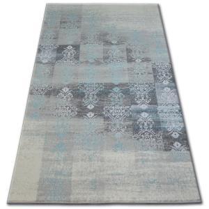 Kusový koberec AKRYLOVÝ PATARA 0146 L.Sand/Tyrkysový