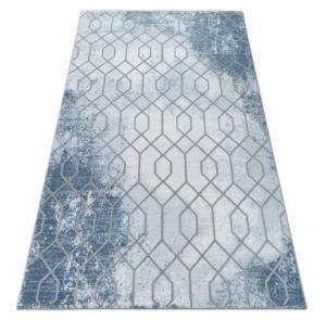 Kusový koberec AKRYLOVÝ VALENCIA 3951 Modrý/Sivý
