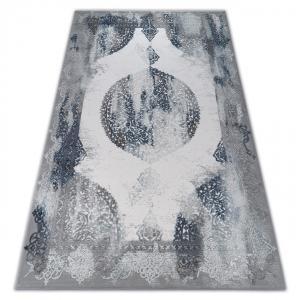 Kusový koberec AKRYLOVÝ VALENCIA 5040 modrý/sivý