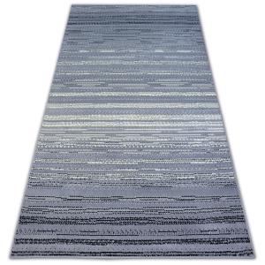 Kusový koberec BCF BASE TIDE 3870 pásy šedý/krémový