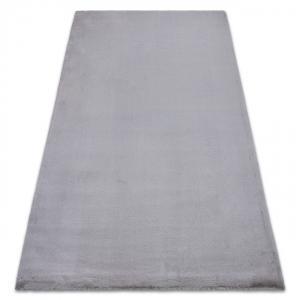 Kusový koberec BUNNY strieborný