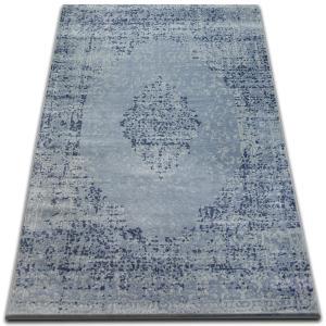 Kusový koberec DROP JASMINE 455 svetlomodrý