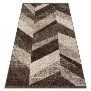 Kusový koberec FEEL Fish hnedý