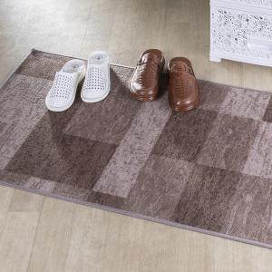 Kusový koberec ICONA hnedá 67 x 150 cm