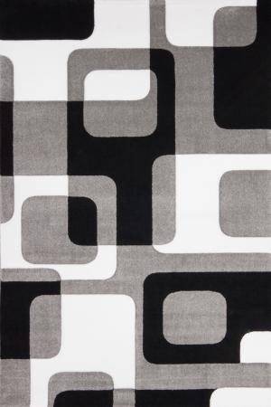 Kusový koberec Lambada Handcarving 463 Silver-Black (160 x 230 cm)