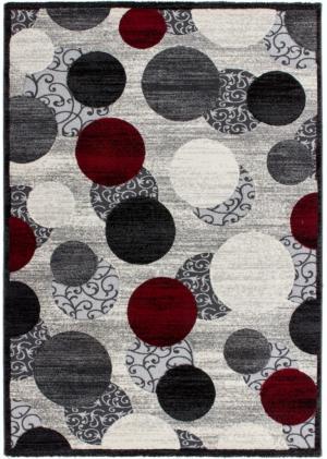 Kusový koberec Palas 577 Silver (150 x 80 cm)
