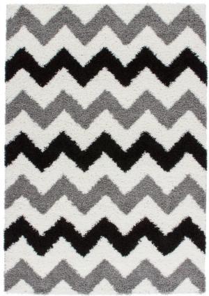 Kusový koberec Rio 253 Silver (150 x 80 cm)