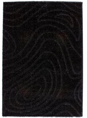 Kusový koberec Sedef 275 Black (170 x 120 cm)