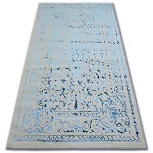 Kusový koberec MANYAS Zeggy sivo-modrý