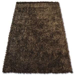 Kusový koberec SHAGGY LILOU hnědý