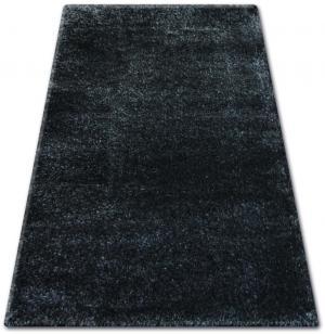 Kusový koberec SHAGGY NARIN čierny melón