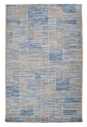 Kusový koberec Terazza 21107-733 Ivory Silver/Blue - 120x170 cm