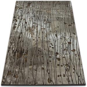 Kusový koberec VOGUE 477 tmavě béžový / hnědý