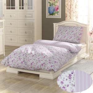 Kvalitex Bavlnené obliečky Provence Viento ružová, 140 x 220 cm, 70 x 90 cm