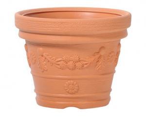 Květináč Decora Ancient oranžový