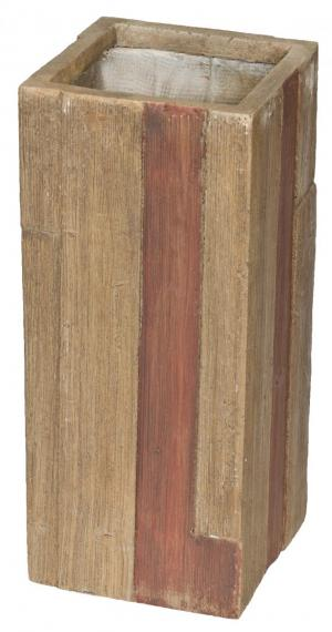 Kvetináč G21 Wood Tube 60 cm