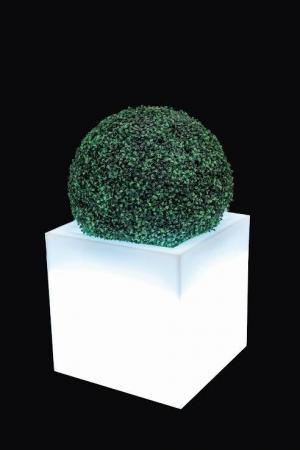 Kvetináč Pixel Pot s osvetlením biely