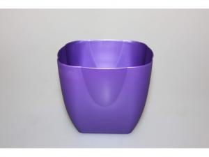 Kvetináč plast 13x13cm mix 540