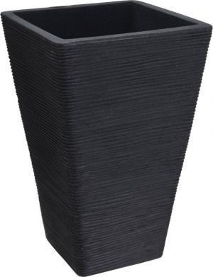 Květináč žebrovaný 35 x 55 cm antracit PROGARDEN KO-Y54192750
