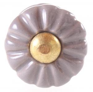 La finesse Mini keramická úchytka Light Grey