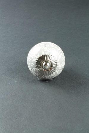 La finesse Porcelánová úchytka Little Grey Flower