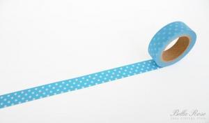 La finesse Samolepiaca dizajnová páska Dot Blue