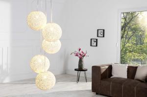 Lampa Wrap 5 biela