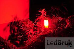 Lampa záhradná LED 12V okrúhla čierna