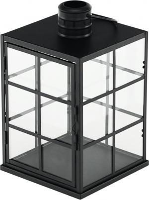 Lampáš-svietnik, čierna, ELIJAR TYP 1