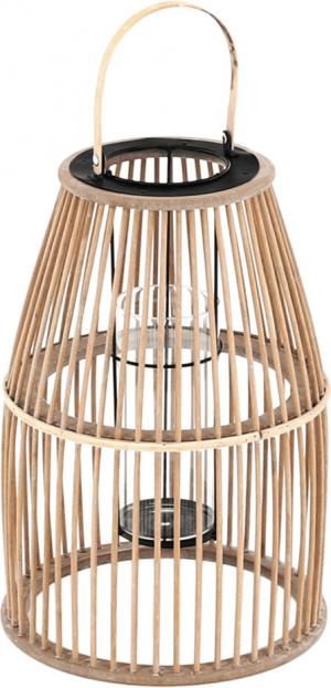 Lampáš-svietnik, pírodný bambus, MILES TYP 2
